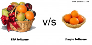 ERP v/s simple software