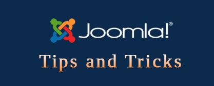 joomla tips