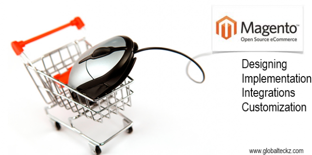 Magento implementation, customization & designing