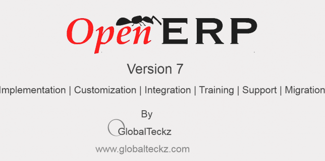 openerp version 7 Implementation, Customization, Integration, Migration