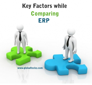 Key factors while comparing ERP